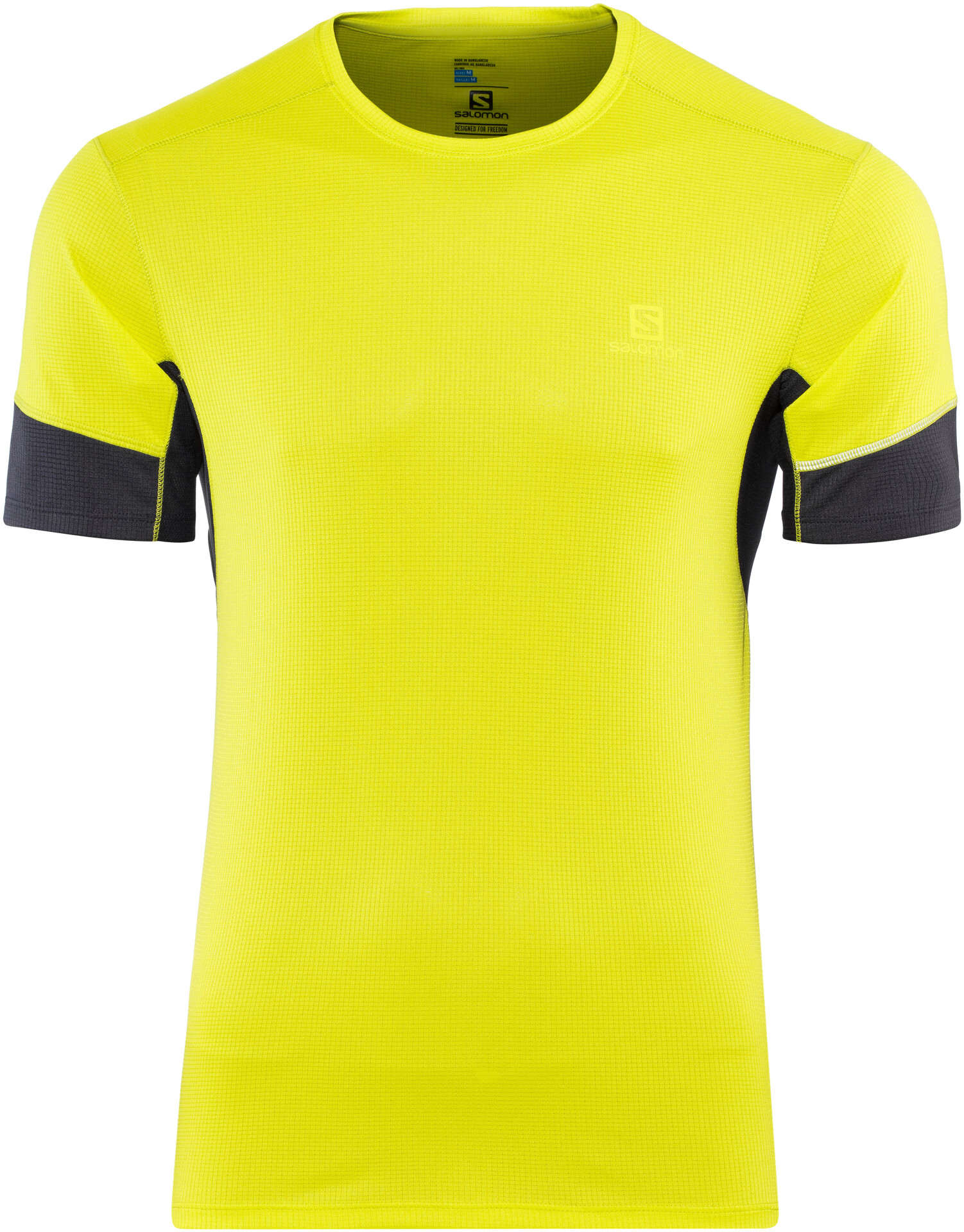 Salomon Agile SS Tee 2019 Men, sulphur springnight sky